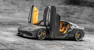Първият в света Mega GT с 4 седалки от Koenigsegg