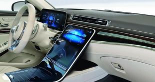 Новата S-класа на Мерцедес взеимства идеи от Tesla