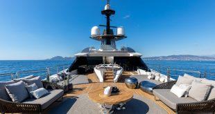 Solo най-екологичната 236-футова супер яхта