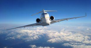 Полет с Bombardier Global 5500